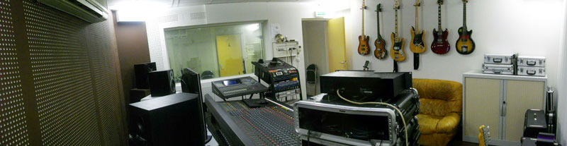 studio d'enregistrement Tours